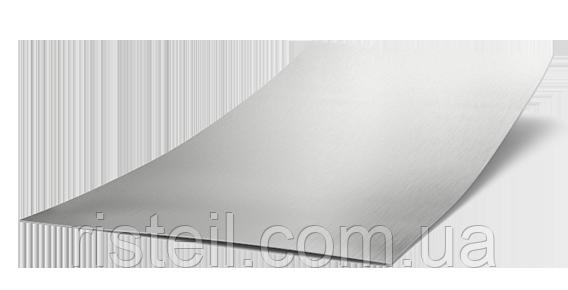 Листовая сталь оцинкованная, 1250х2500х2,0 мм