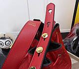 Сумка женская Фенди Mon Tresor, цвет красный, натуральная кожа, фото 9