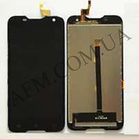 Дисплей (LCD) Blackview BV5000/  GoClever Quantum 2 500 Rugged с сенсором чёрный