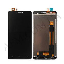 Дисплей (LCD) Cubot Max с сенсором чёрный