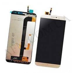 Дисплей (LCD) Cubot Note S с сенсором золотой