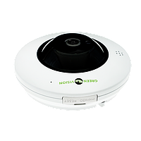 Панорамная камера 360 купольная IP для внутренней установки GreenVision GV-076-IP-ME-DIS40-20 (360) POE