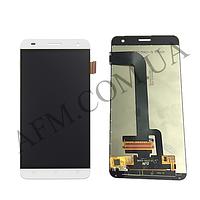 Дисплей (LCD) Fly FS504 Cirrus 2/  Nomi i504 с сенсором белый