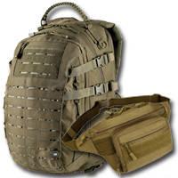 Тактические сумки и рюкзаки, гермомешки