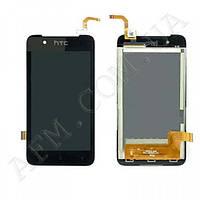 Дисплей (LCD) HTC 210 Desire Dual Sim с сенсором чёрный