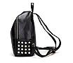 Рюкзак женский кожзам Kelli Черный без карманов, фото 5