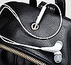 Рюкзак женский кожзам Kelli Черный без карманов, фото 9