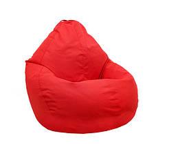 Кресло мешок груша PufOn, Оксфорд Оксфорд, XXXL, Красный, Красный