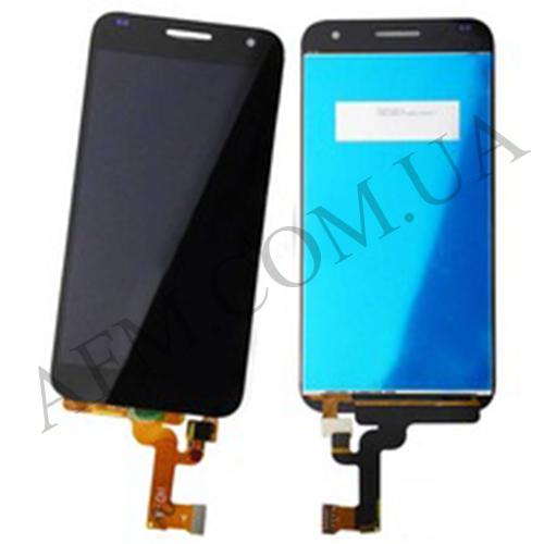 Дисплей (LCD) Huawei G7 (G760- L01) Ascend с сенсором чёрный