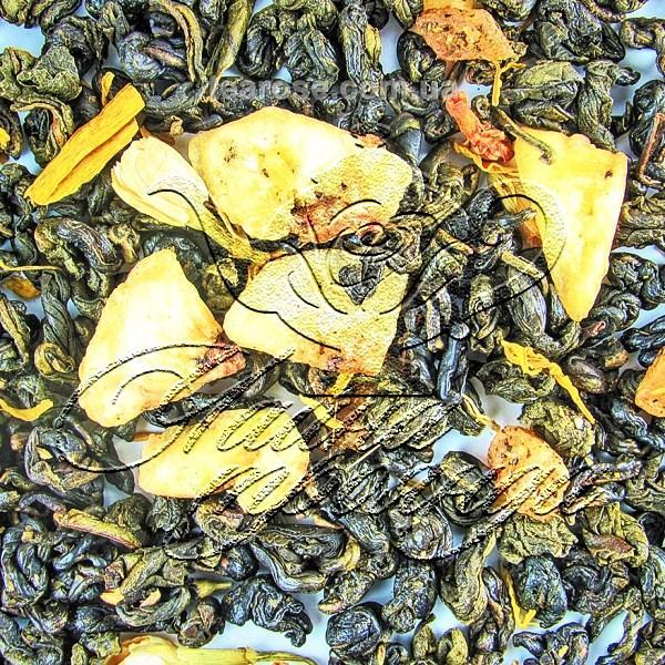 Зелений ароматизований чай «Банановий рай»