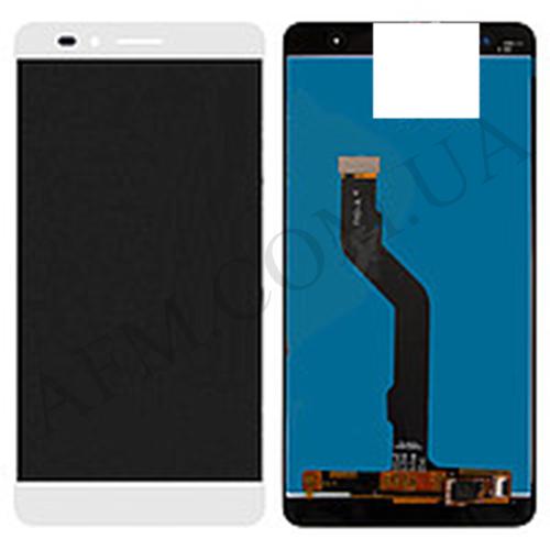 Дисплей (LCD) Huawei Honor 5X (KIW- L21)/  X5/  GR5 (2016) с сенсором белый
