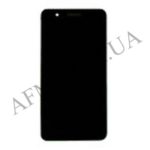 Дисплей (LCD) Huawei Honor 6 Plus (PE- TL10) с сенсором чёрный
