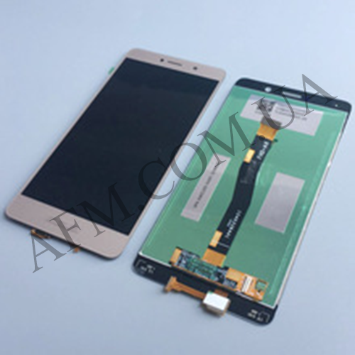 Дисплей (LCD) Huawei Honor 6X (BLN- L21)/  Mate 9 Lite/  GR5 (2017) с сенсором золотой
