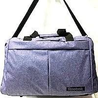 Універсальні спортивні сумки ReaBook текстиль (синій)30*48см