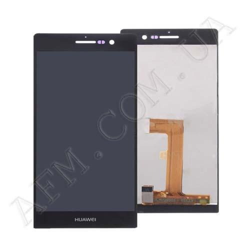 Дисплей (LCD) Huawei P7- L10 Ascend/  Sophia- L10 с сенсором чёрный