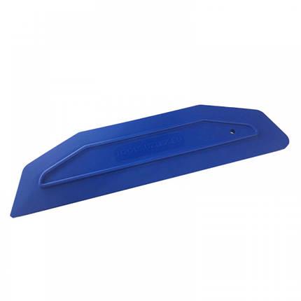 21911005 Ракель широкий, синий - Wide squeegee XC- Uzlex, 235x65mm, blue, фото 2