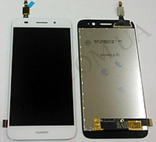 Дисплей (LCD) Huawei Y3 (2017) (CRO- L02/  CRO- L22)/  Y5 Lite (2017) с сенсором белый