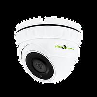 Антивандальная IP камера для внутренней и наружной установки Green Vision GV-080-IP-E-DOS50-30