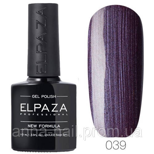 Гель лак ELPAZA 039 Фиолетовая загадка, 10 мл