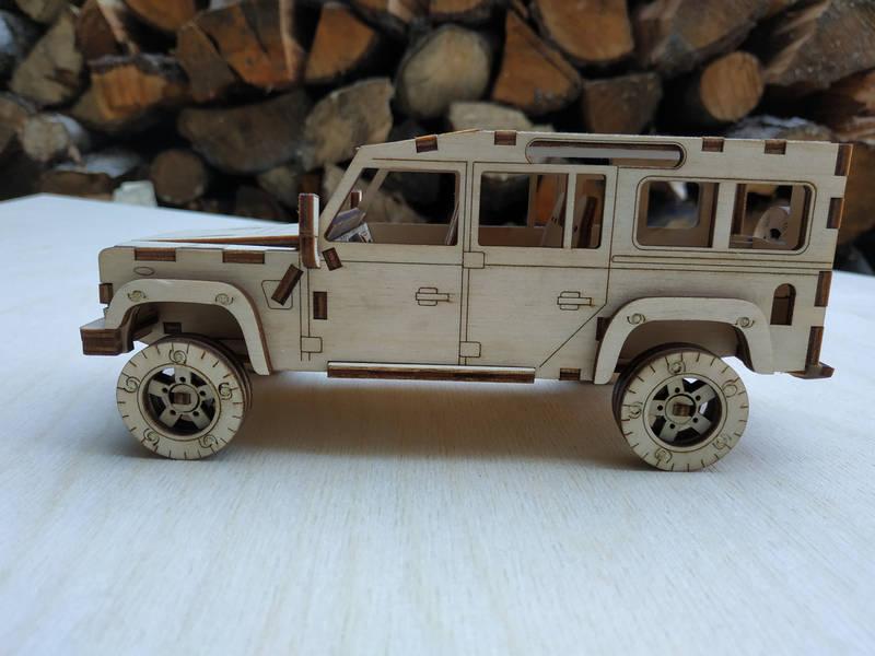 3D пазл Land Rover Defender 110