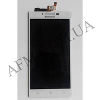 Дисплей (LCD) Lenovo P70 с сенсором белый