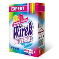 Wirek Universal универсальный стиральный порошок для цветных и белых тканей 400 гр