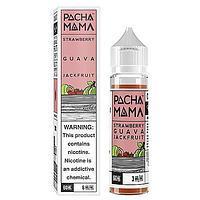 PACHAMAMA Strawberry Guava Jackfruit - никотин 3 мг., 60 мл. VG/PG 70/30