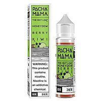 PACHAMAMA The Mint Leaf Honeydew Berry Kiwi - никотин 3 мг., 60 мл. VG/PG 70/30