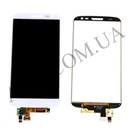 Дисплей (LCD) LG D618/  D620/  D610/  D625 Optimus G2 mini с сенсором белый