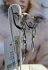Серебряные серьги - подвески