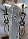 Серебряные серьги - подвески , фото 2