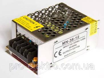 Негерметичные блоки питания 12В - постоянное напряжение Сompact 36W; 3А 1013406