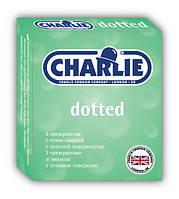 Презервативы Charlie Dotted № 3 с точечной поверхностью со смазкой