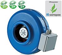 Вентилятор канальный круглый ВКМ 160 ЕС