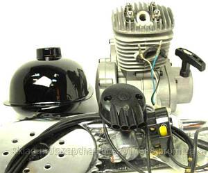 Веломотор дырчик 80сс (вело мотор) в сборе с ручным стартером 80 см3