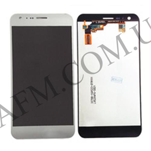 Дисплей (LCD) LG K580 X Cam с сенсором серый оригинал