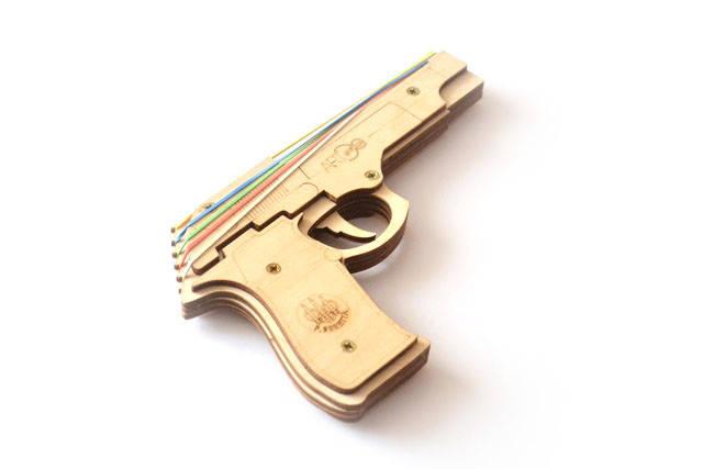 """3d пазлы  """"Пистолет"""""""