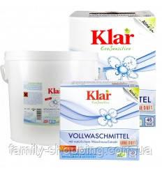 Органический универсальный стиральный порошок с экстрактом мыльного ореха Klar