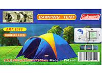 Палатка 3-местная двухслойная Coleman 1011, фото 1