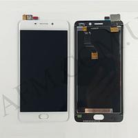 Дисплей (LCD) Meizu M6 Note (M721H) с сенсором белый