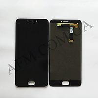 Дисплей (LCD) Meizu MX6 (M685) с сенсором чёрный