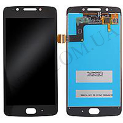 Дисплей (LCD) Motorola XT1670 Moto G5/  XT1672/  XT1675/  XT1676 с сенсором чёрный