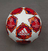 Мяч футбольный Лиги Чемпионов 2018-2019 (красный), фото 1