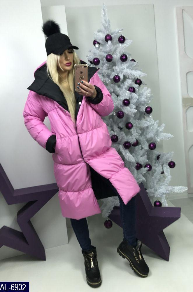 Женское пальто-одеяло (зима)
