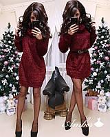 Свободное платье из материала травки 8PL2179, фото 1