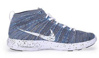Мужские кроссовки Nike Lunar Flyknit Chukka Grey  найк зум серые