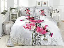 Комплект постельного белья сатин 3d First Choice евро размер Brenda