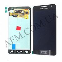 Дисплей (LCD) Samsung GH97- 16747B A300F Galaxy A3 (2015) с сенсором чёрный сервисный