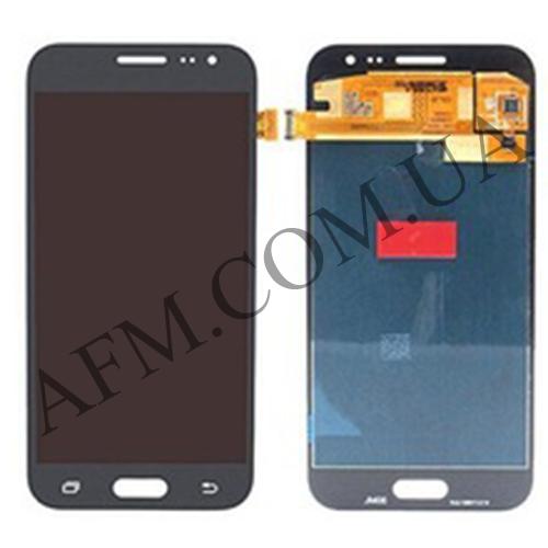 Дисплей (LCD) Samsung GH97- 17940C J200F Galaxy J2 с сенсором чёрный сервисный