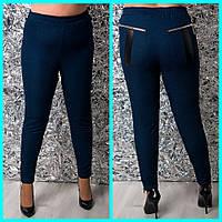 Женские стрейчевые джинсы в больших размерах 10BR1216, фото 1